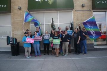 As LCBO pickets continue with focus on safety, casual work, and stopping privatization, media coverage grows