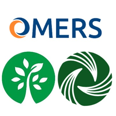 OMERS, HOOPP and OPTrust logos