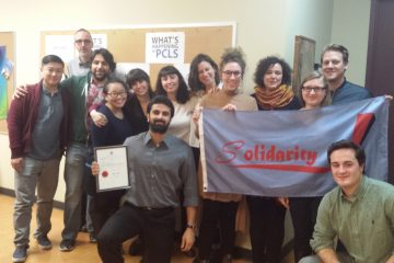 Summer caseworkers at Parkdale Community Legal Services ratify first contract