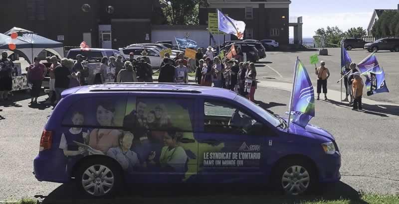 Port Arthur health rally