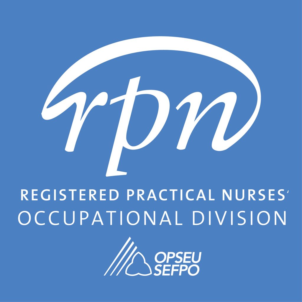 OPSEU/SEFPO Registered Practical Nurse Occupational Division COVID-19 Recommendations