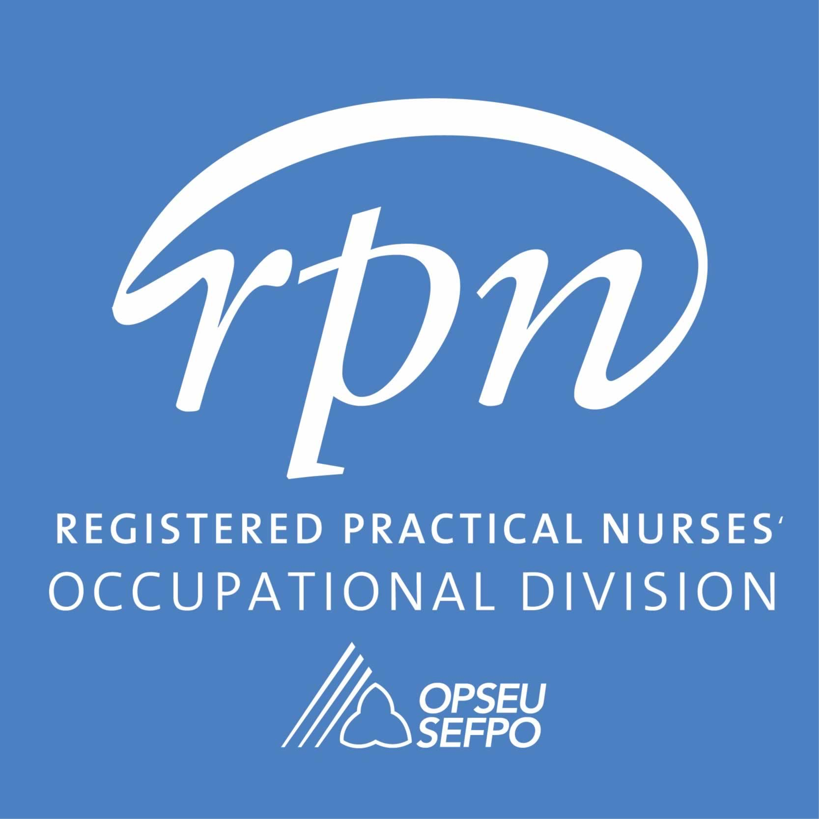 Letter from RPN Occupational Division in support of College Faculty