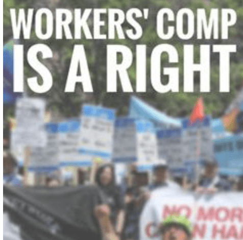 Workers' Comp is a right