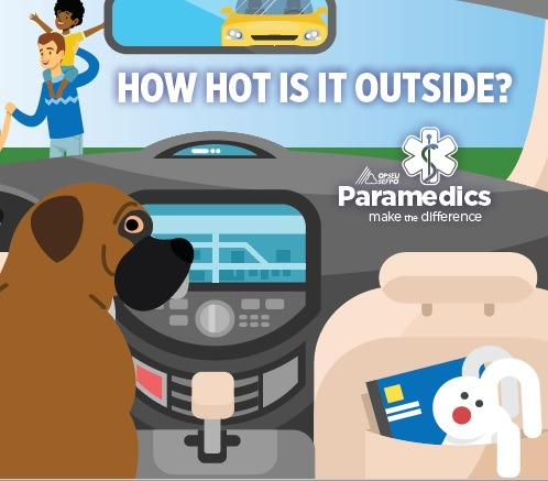 How hot is it outside? OPSEU Paramedics make the difference.