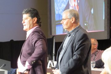 Smokey Thomas, OPSEU and Jerry Dias, UNIFOR