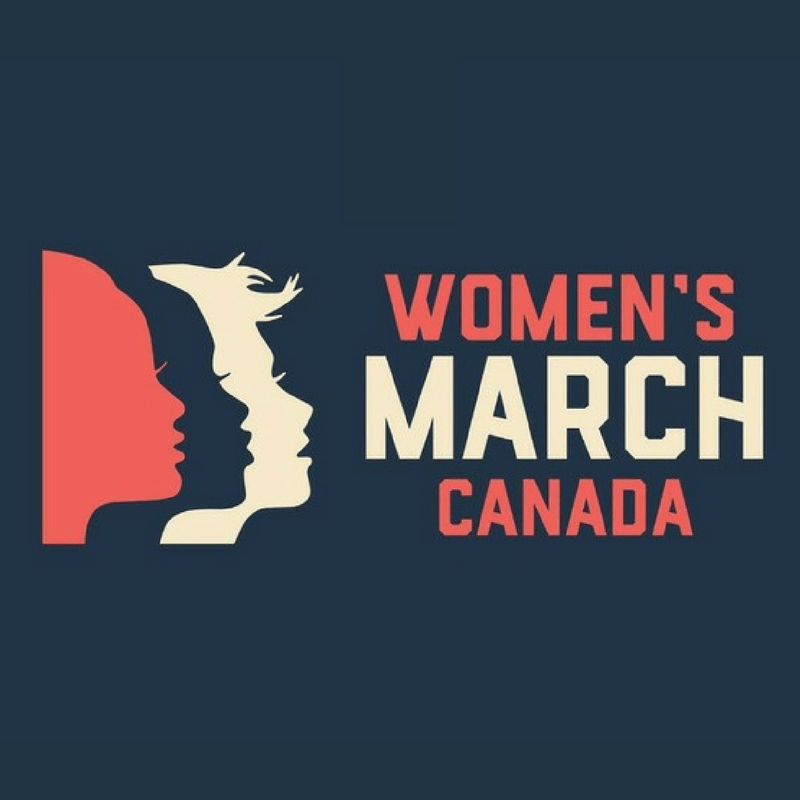 Women's March Canada logo