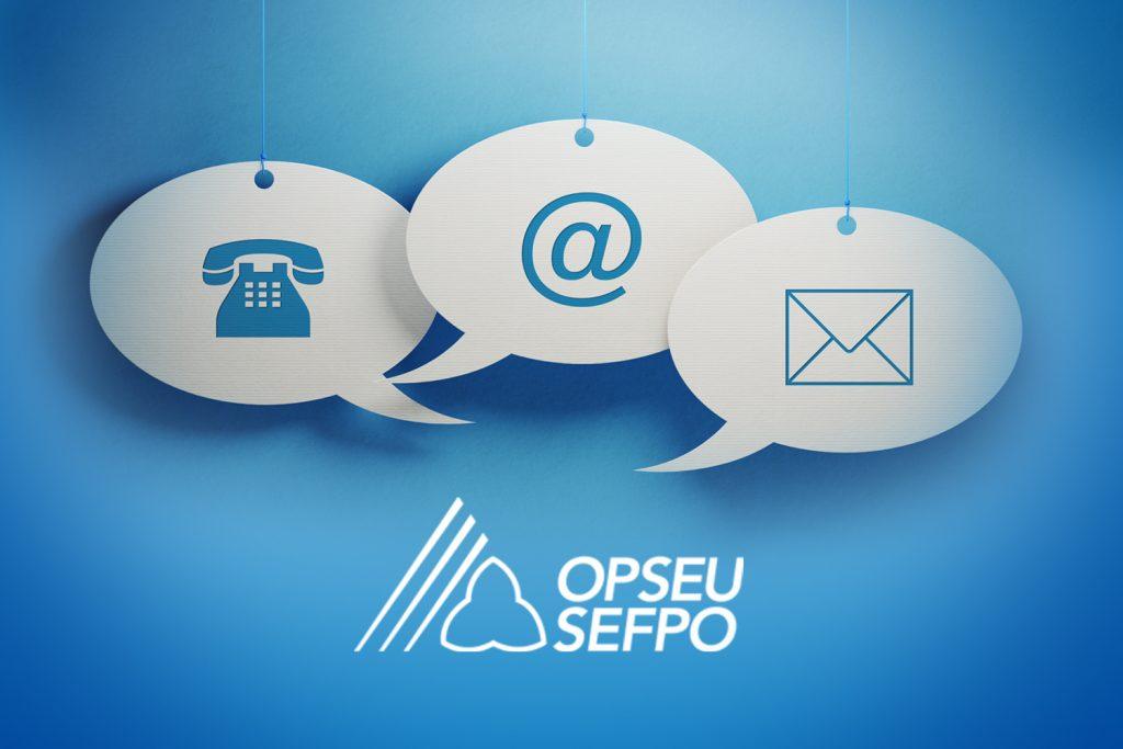 Contact Us Opseu Sefpo