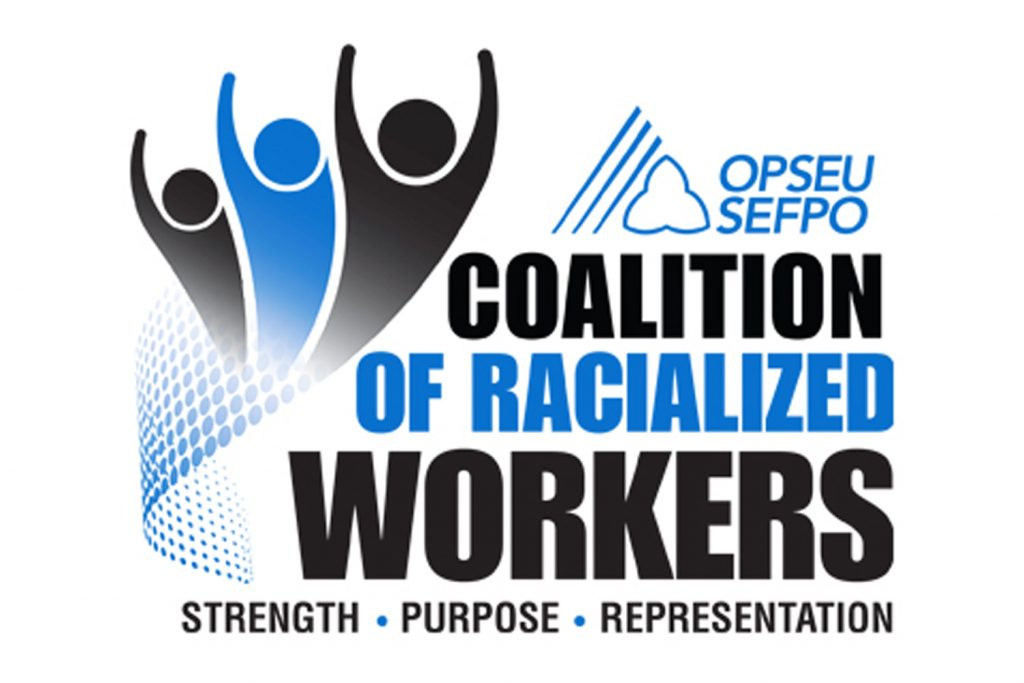 Coalition of Racialized Workers Region 5 virtual pulse check on July 18