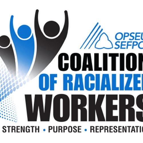 Coalition of Racialized Workers logo