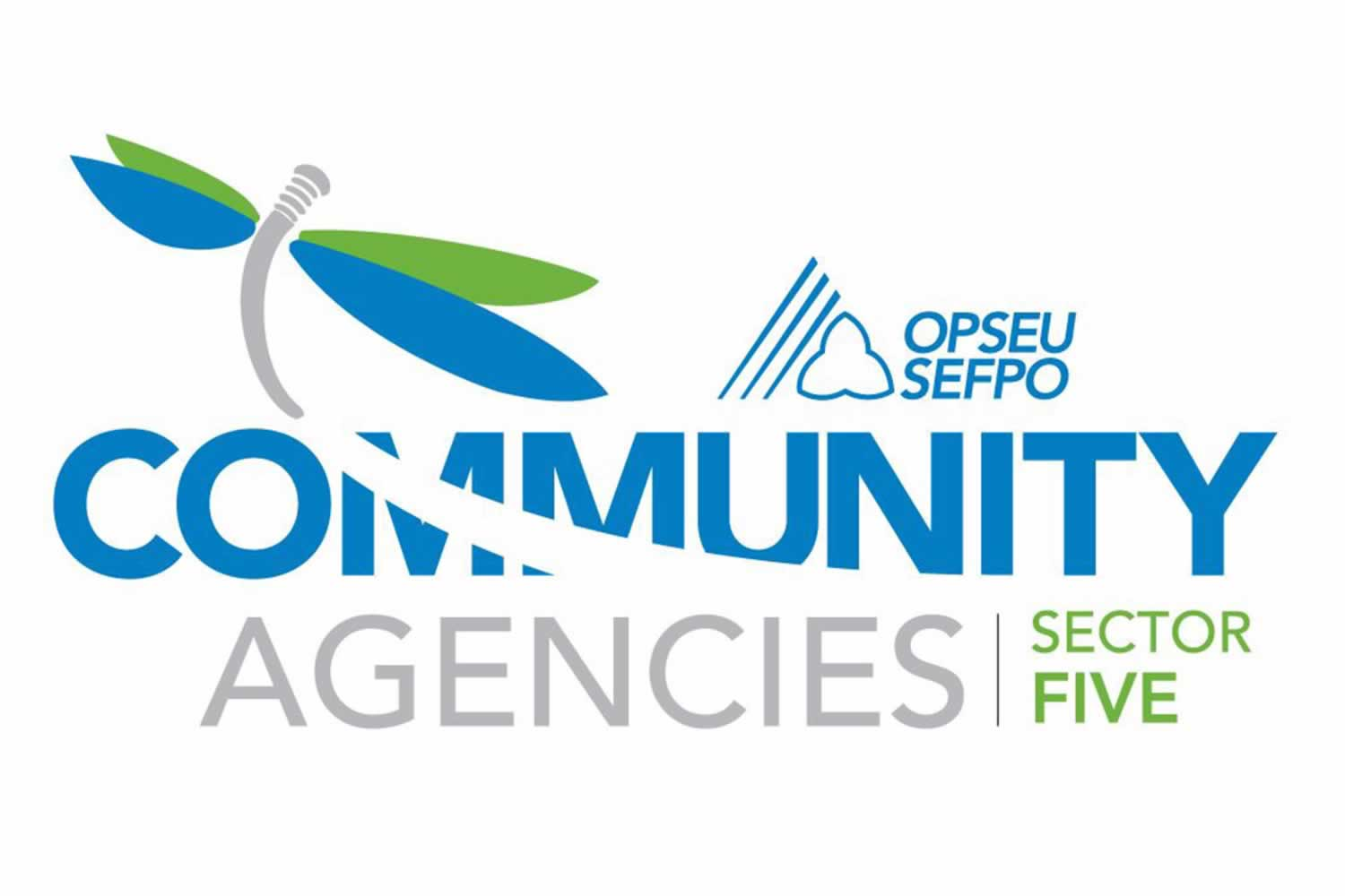 Community Agencies Sector Five logo