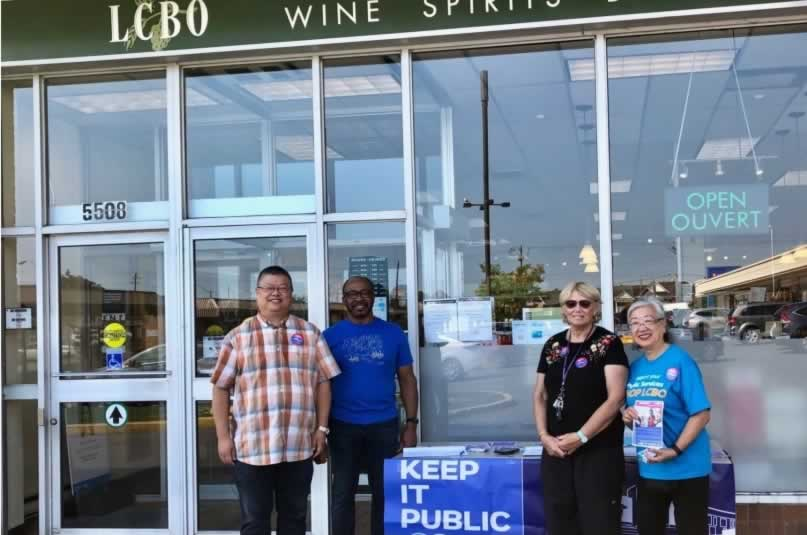 OPSEU members ask public to 'Shop LCBO'