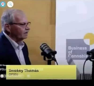 Smokey Thomas on the business of cannabis