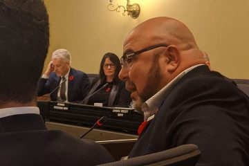 Almeida at bill 124 hearing