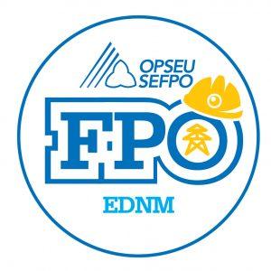 French round ENDM logo