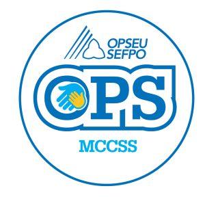 English round MCCSS logo