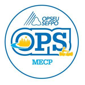 English round MECP logo