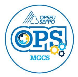 English round MGCS logo