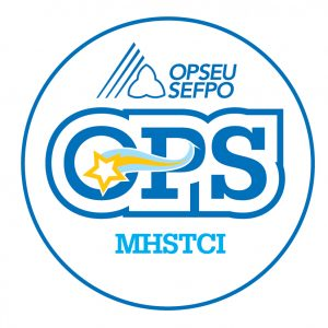 English round MHSTCI logo