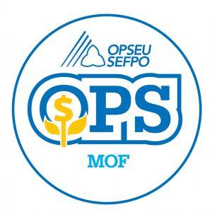 English round MOF logo