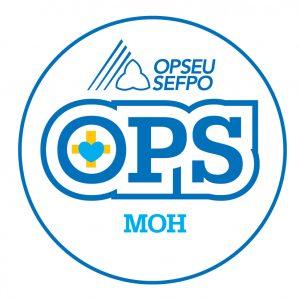 English round MOH logo