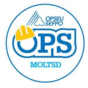 English round MOLTSD logo