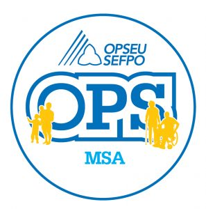 English round MSA logo