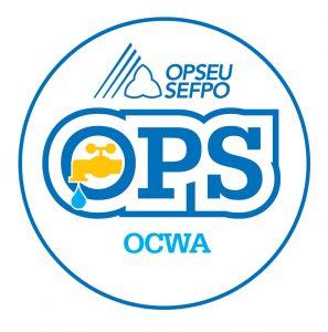 English round OCWA logo