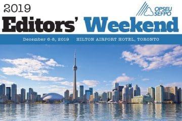 2019 Editors Weekend