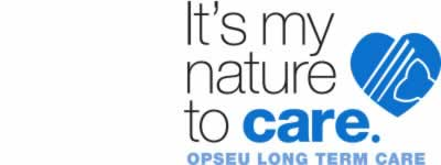 It's my nature to care. OPSEU long term care logo