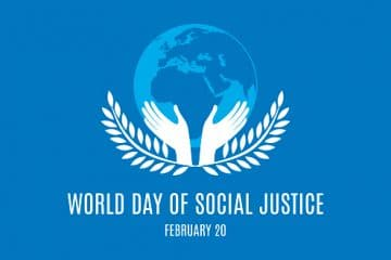 World Day of Social Justice vector