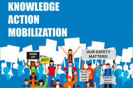Knowledge Action Mobilization Health and Safety logo