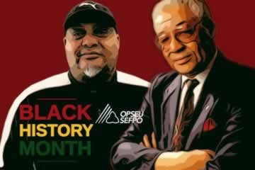 Black History Month: Peter Thompson.