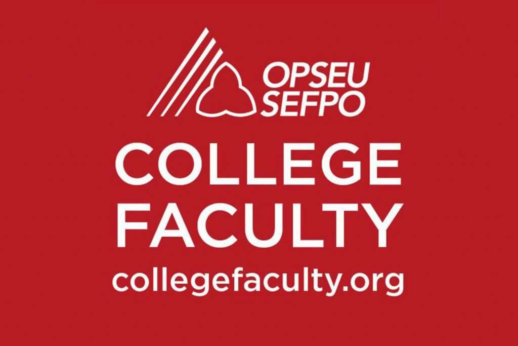Statement by OPSEU/SEFPO College Faculty Division on the abolition of Sheridan College's academic senate