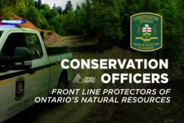 Conservation officers: Front line protectors of Ontario's natural resources