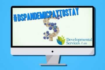 Developmental Services Appreciation Week -  Pandemic pay has helped families live a better life