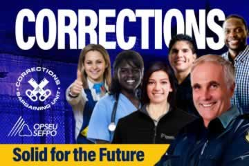 Corrections Bargaining unit: Solid for the future