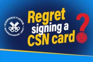 Regret signing a CSN card?