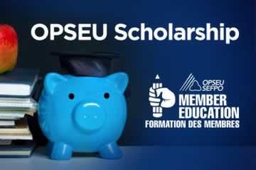 Congratulations to 2020 OPSEU/SEFPO Scholarship Recipients!