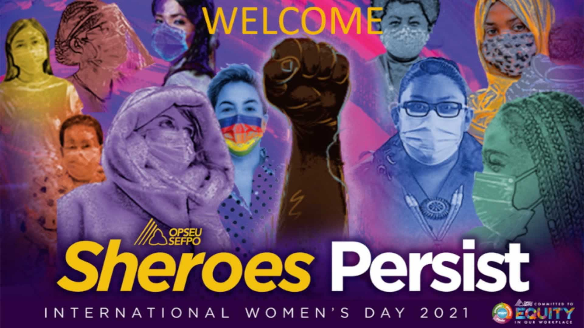 OPSEU/SEFPO celebrates International Women's Day 2021