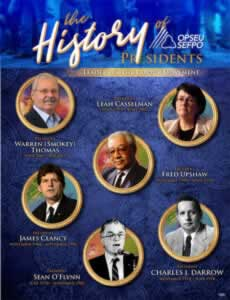 the History of OPSEU/SEFPO Presidents: Leaders in the labour movement