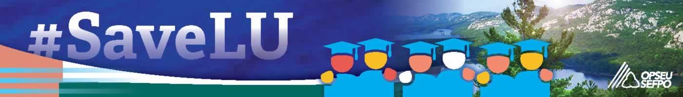 #SaveLU Banner