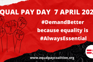 Equal Pay Day 2021: Women are essential to a fair and just economic recovery