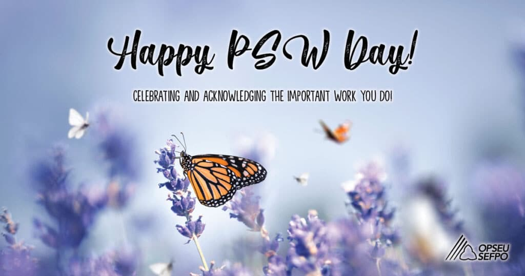 Happy PSW Day - Celebrating the important work you do!